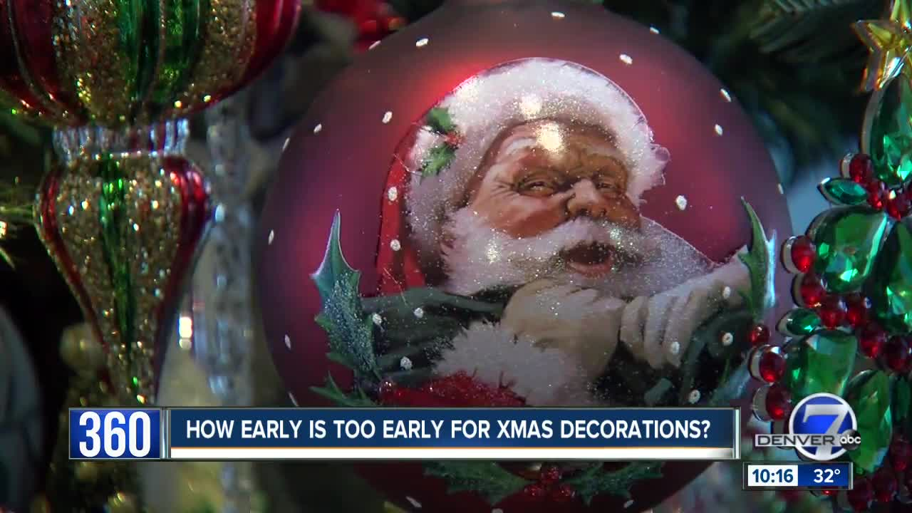 when is too early to put up the christmas lights denver7 thedenverchannelcom - When Is Christmas