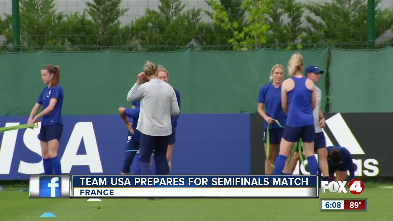 Naeher stops late penalty; USWNT advances to World Cup Final