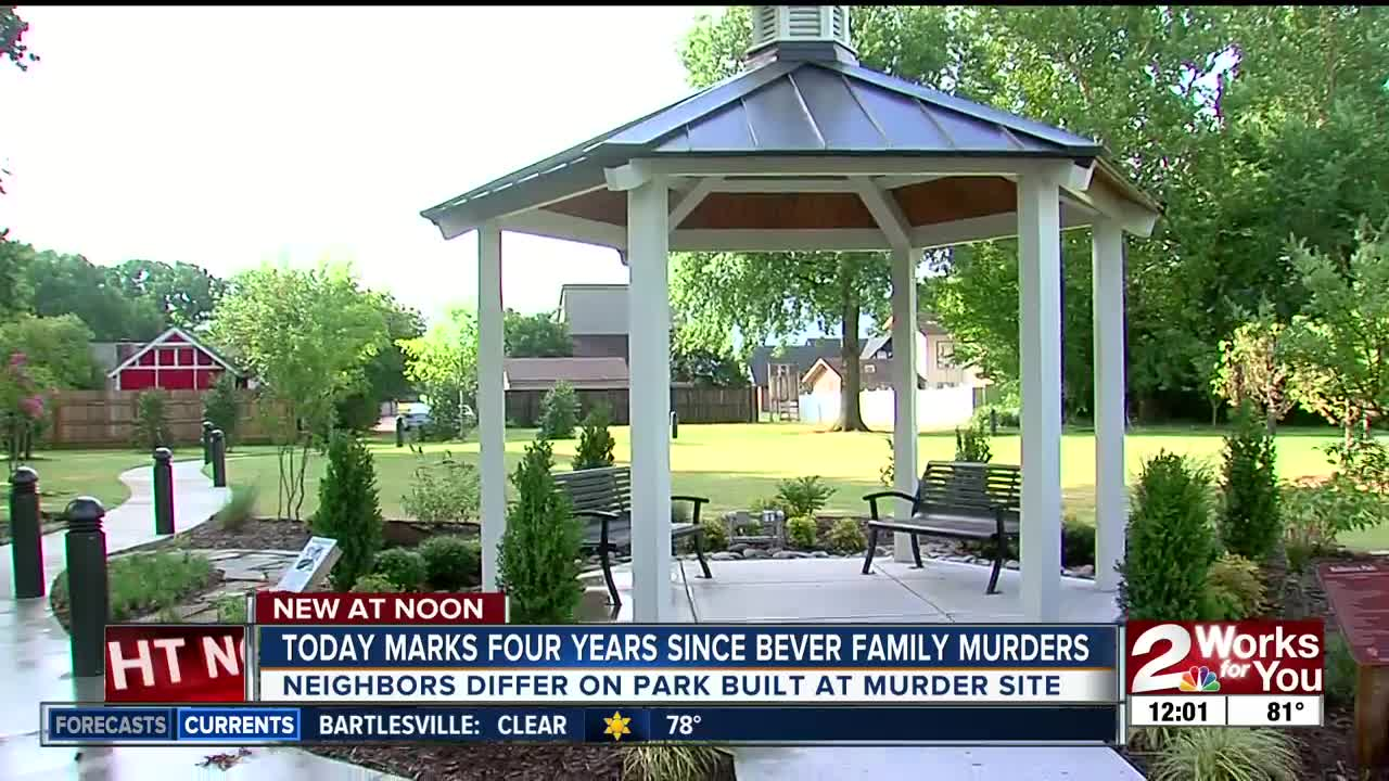 Four years since Bever family murders, neighbors differ on