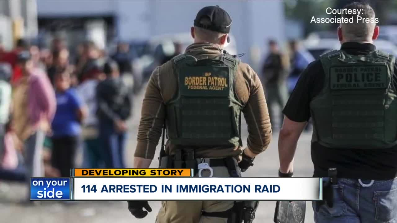 immigration agents arrest 114 - 1200×630