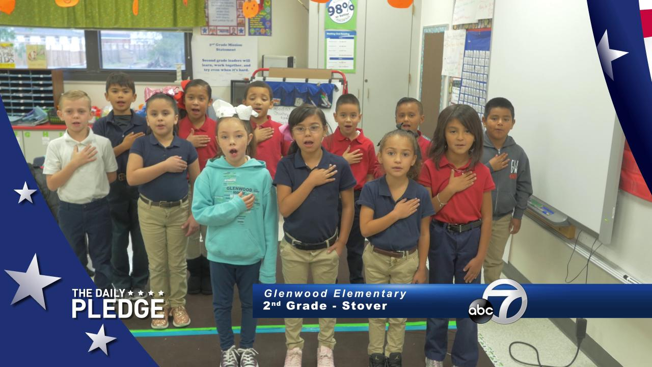 Daily Pledge: Stover's 2nd Grade at Glenwood Elementary