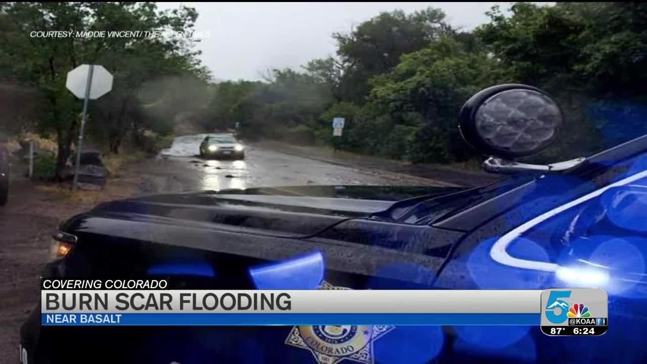 Flooding Sends Folks To Higher Ground Near Lake Christine