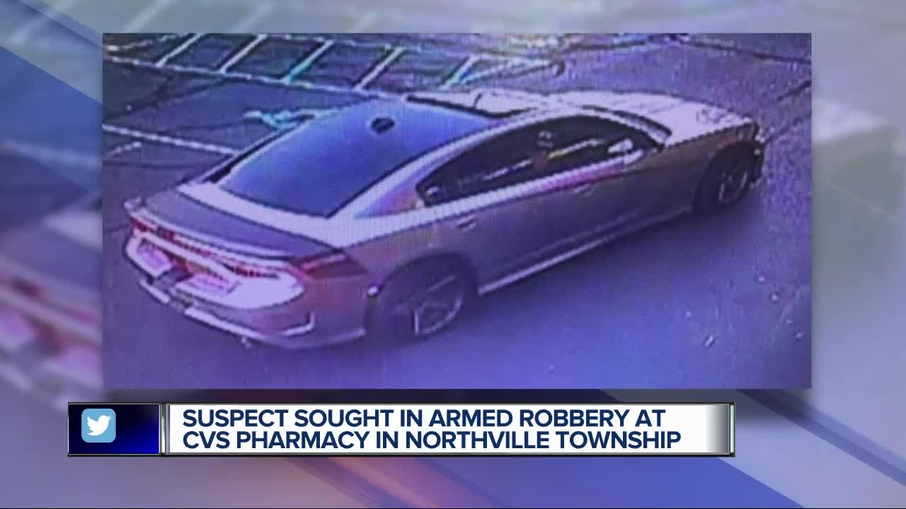 police looking for man connected to armed robbery at cvs pharmacy in