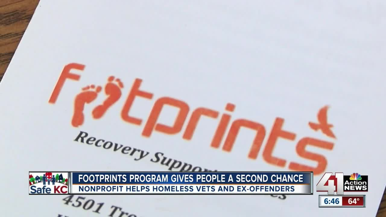 KC man takes steps to recovery through Footprints program