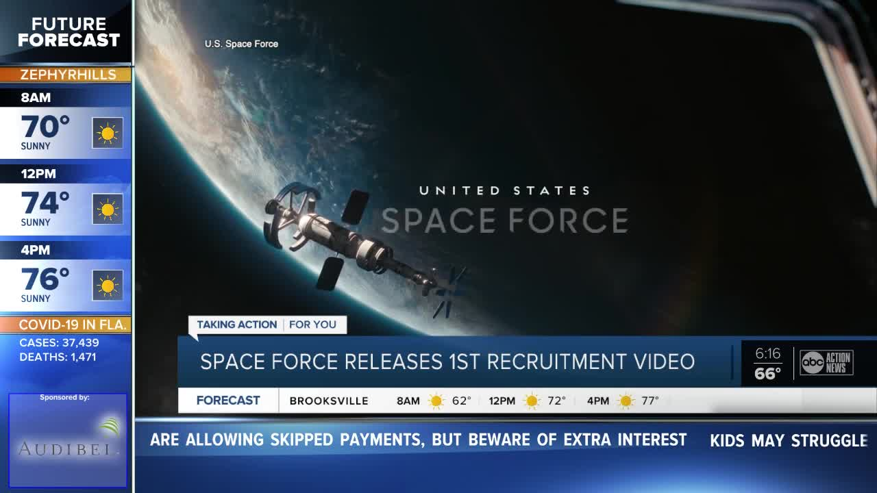 US Space Force Releases Recruitment Video