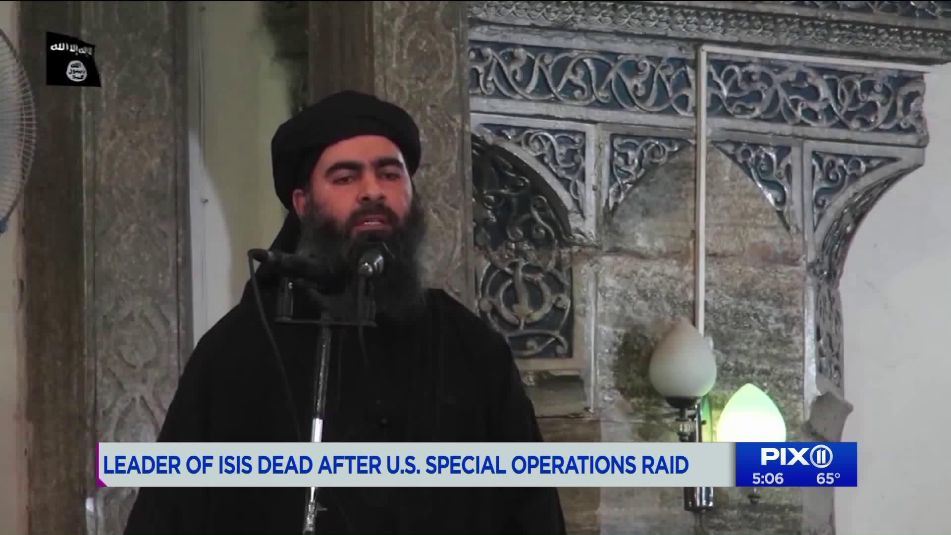 ISIS confirms death of group leader Al-Baghdadi - Daily