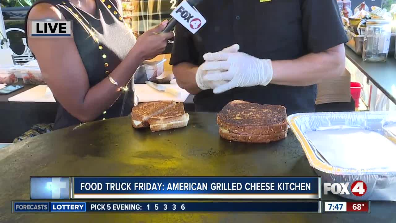 Food Truck Friday: The American Grilled Cheese Kitchen