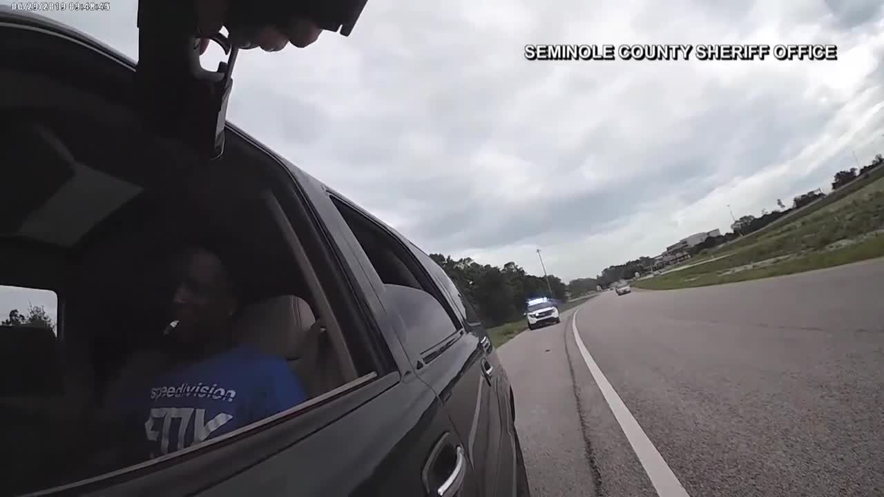 Man drags deputy with car in Orlando-area traffic stop