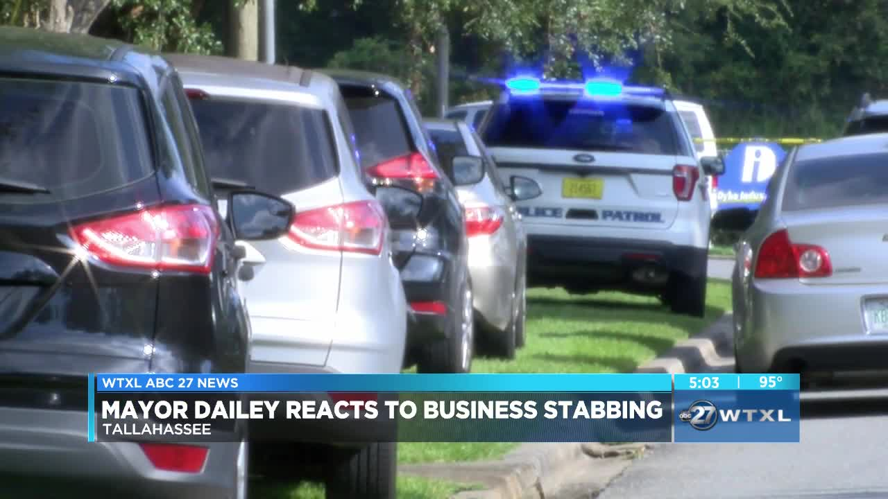 Multiple people stabbed at Tallahassee business, suspect in custody, police say