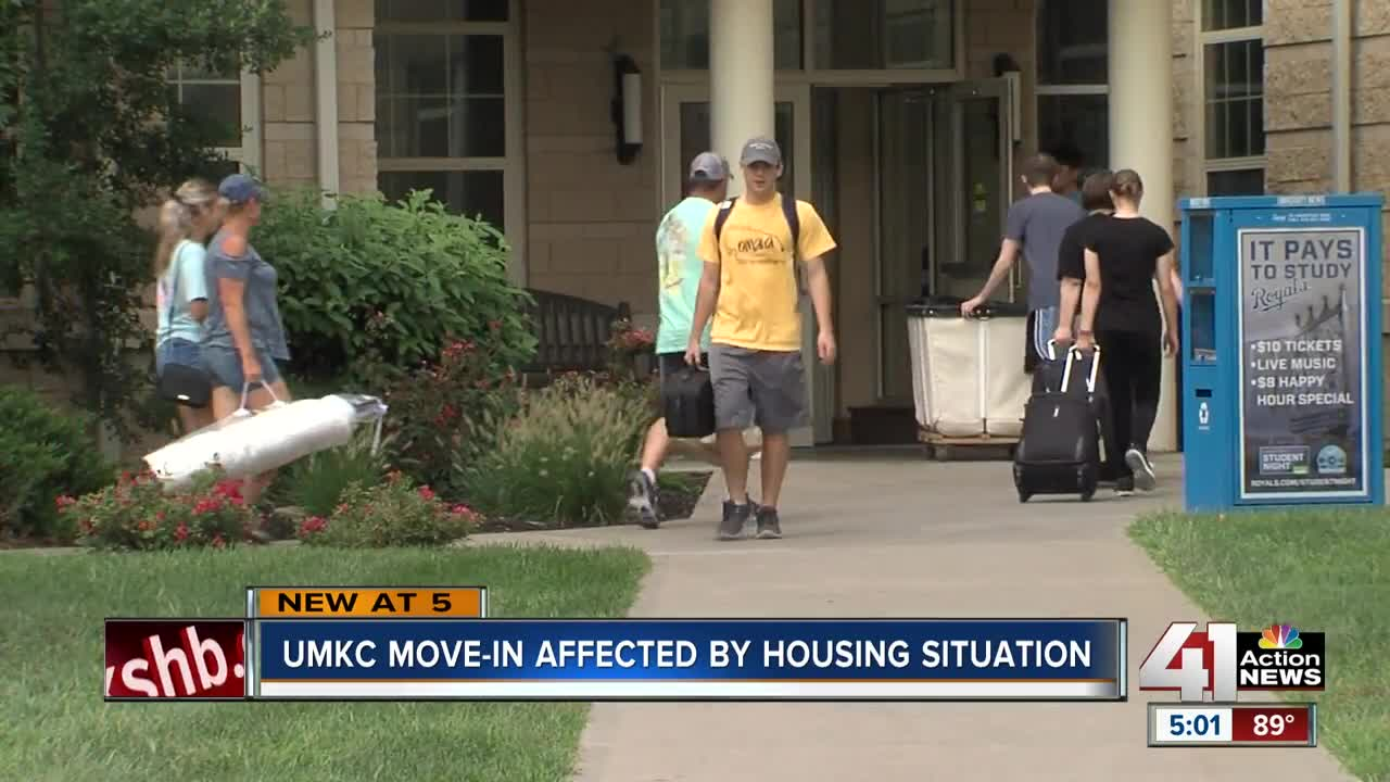 Shuttered dorms create housing headache for some UMKC students
