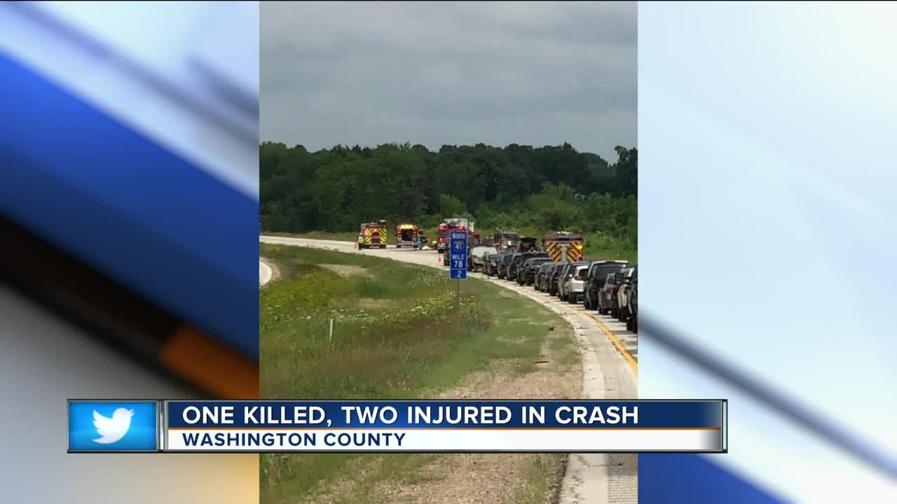 One killed, two hospitalized in Washington County crash