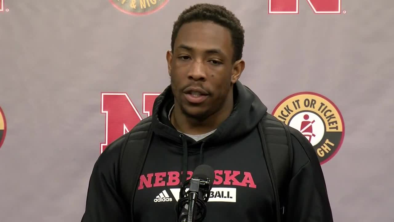ab950444f05 Nebraska s Adrian Martinez on his resilience as a player.