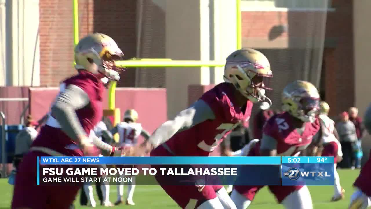 FSU-Boise State game to be moved to Tallahassee, students to