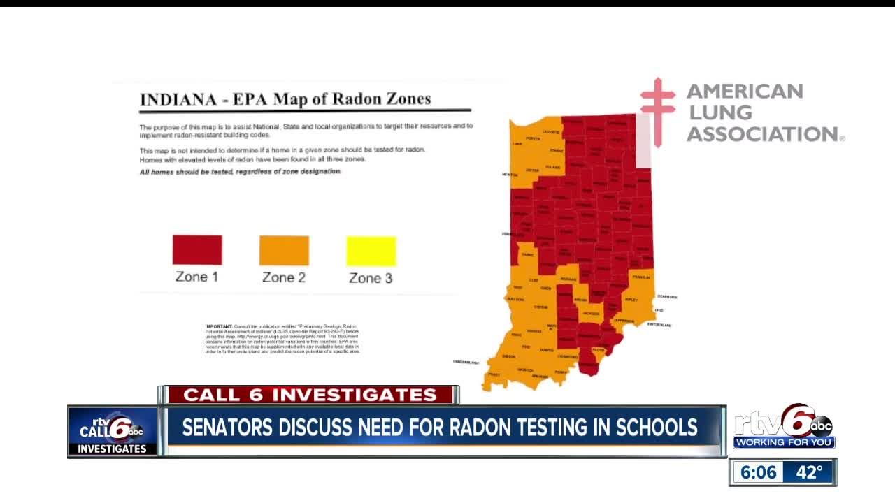 Bill to educate Indiana s on radon testing advances Illinois Radon Map on illinois gold map, illinois selenium map, illinois energy map, illinois mine subsidence map, illinois wetlands map, illinois science map, illinois co map, illinois water map, illinois air quality map, illinois pollution map, illinois well map, illinois soil map,