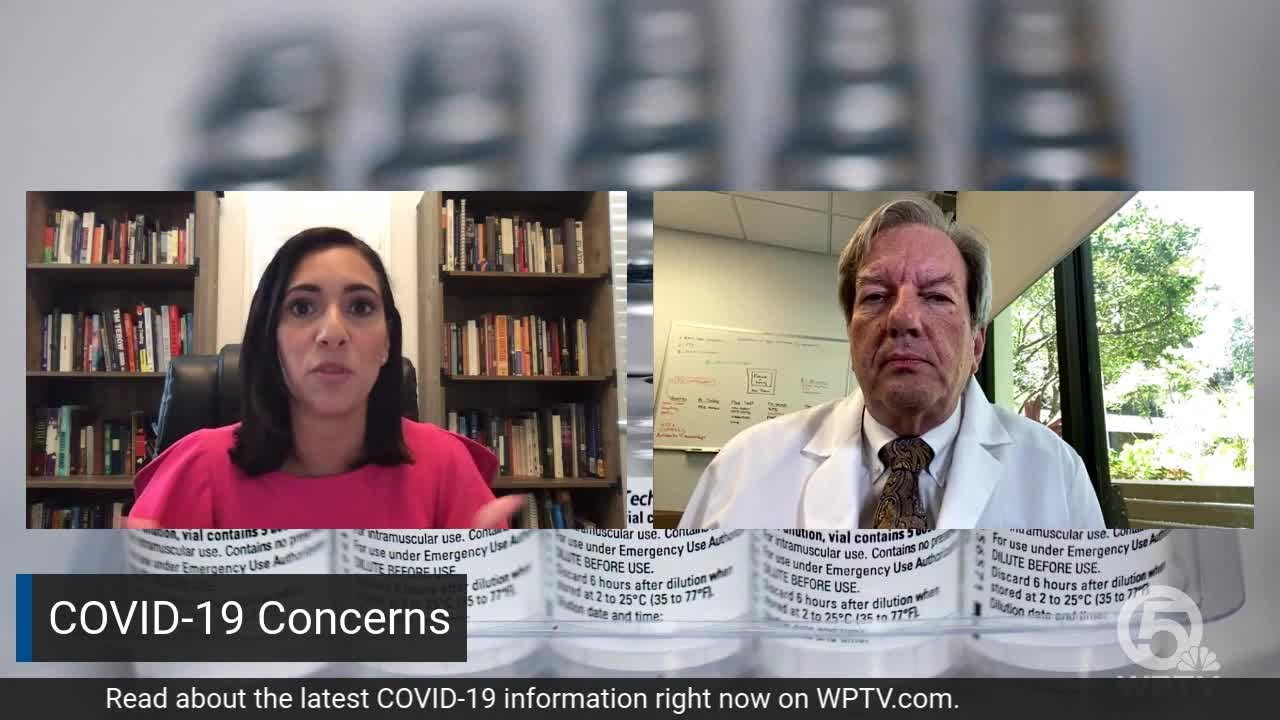 wptv.com - Scott Sutton - Jupiter Medical Center seeing about 5 new COVID-19 patients each day, doctor says