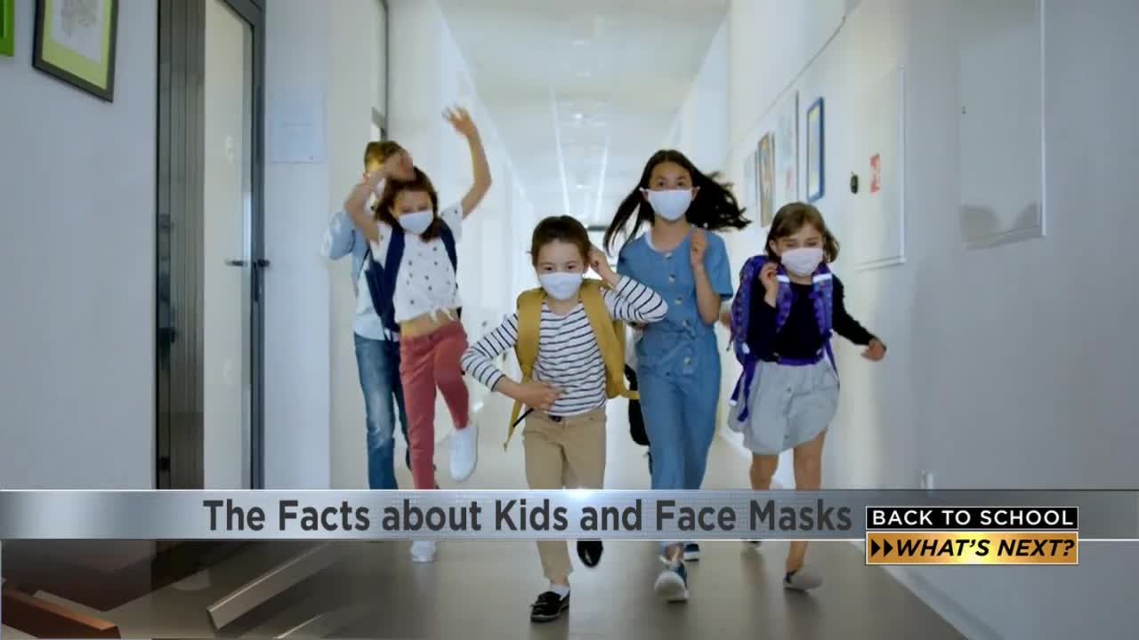 Back To School The Facts About Kids And Face Masks