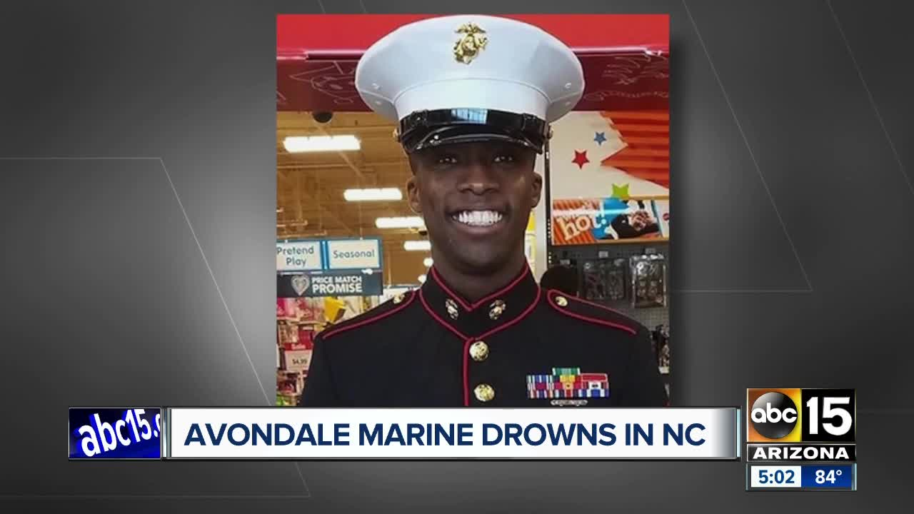 Avondale Marine drowns in North Carolina