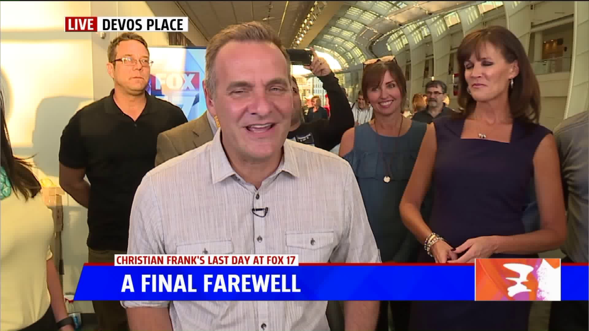 Christian Frank Signing Off Fox 17 After 18 Years