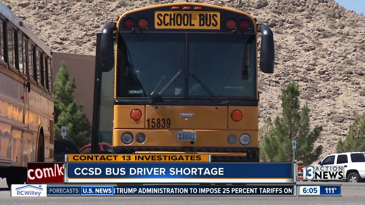 Wild Ride Clark County School District Needs To Fill Nearly 70 Bus Driver Positions