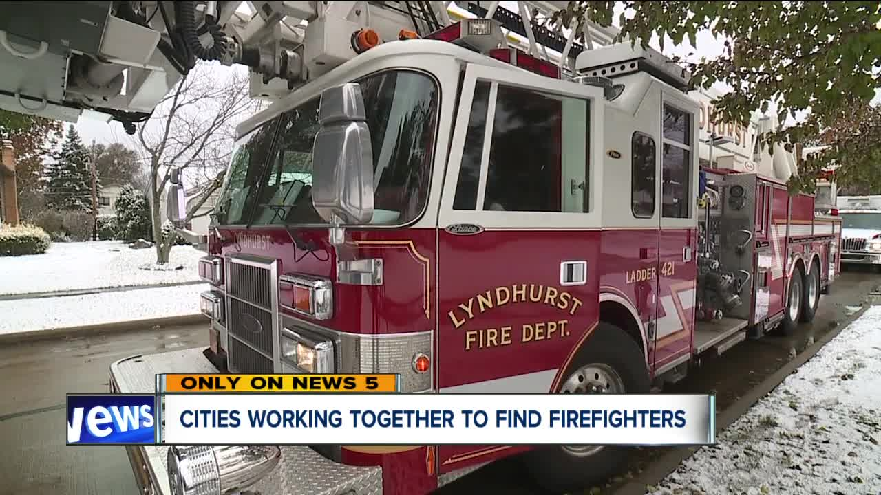 Shortage of firefighter applicants leads to five city collaboration