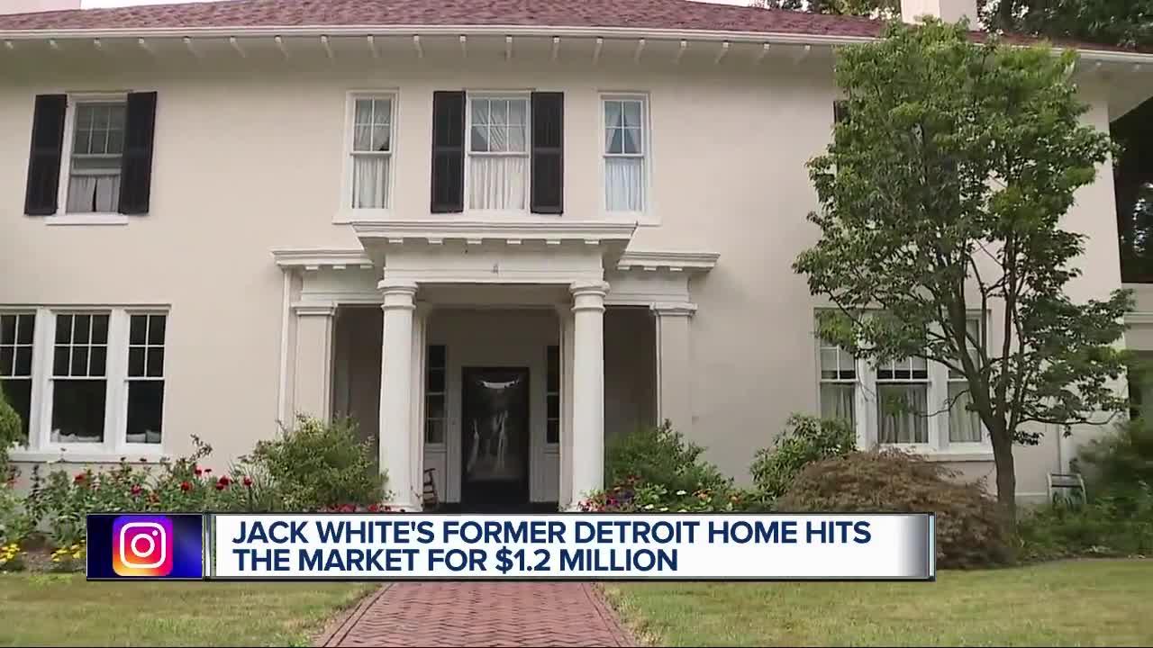 Jack White's former home in Detroit's Indian Village for
