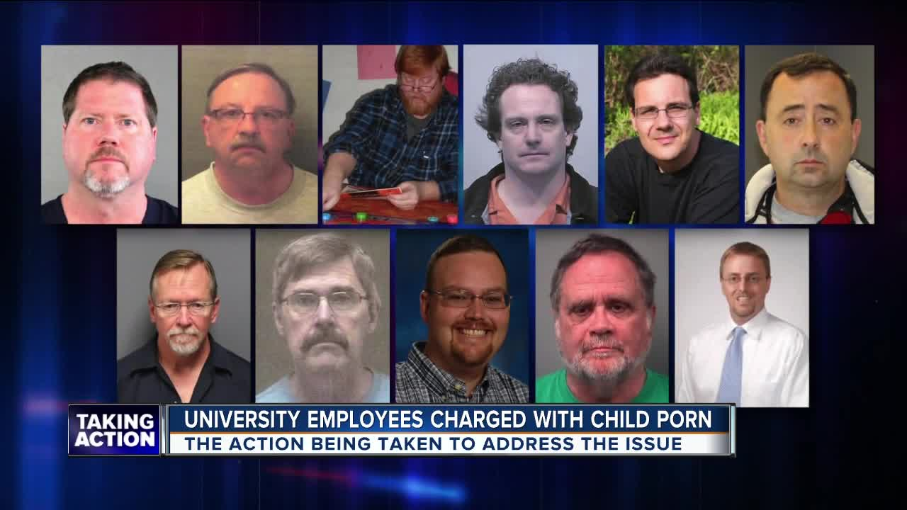 11 employees across multiple Michigan universities arrested