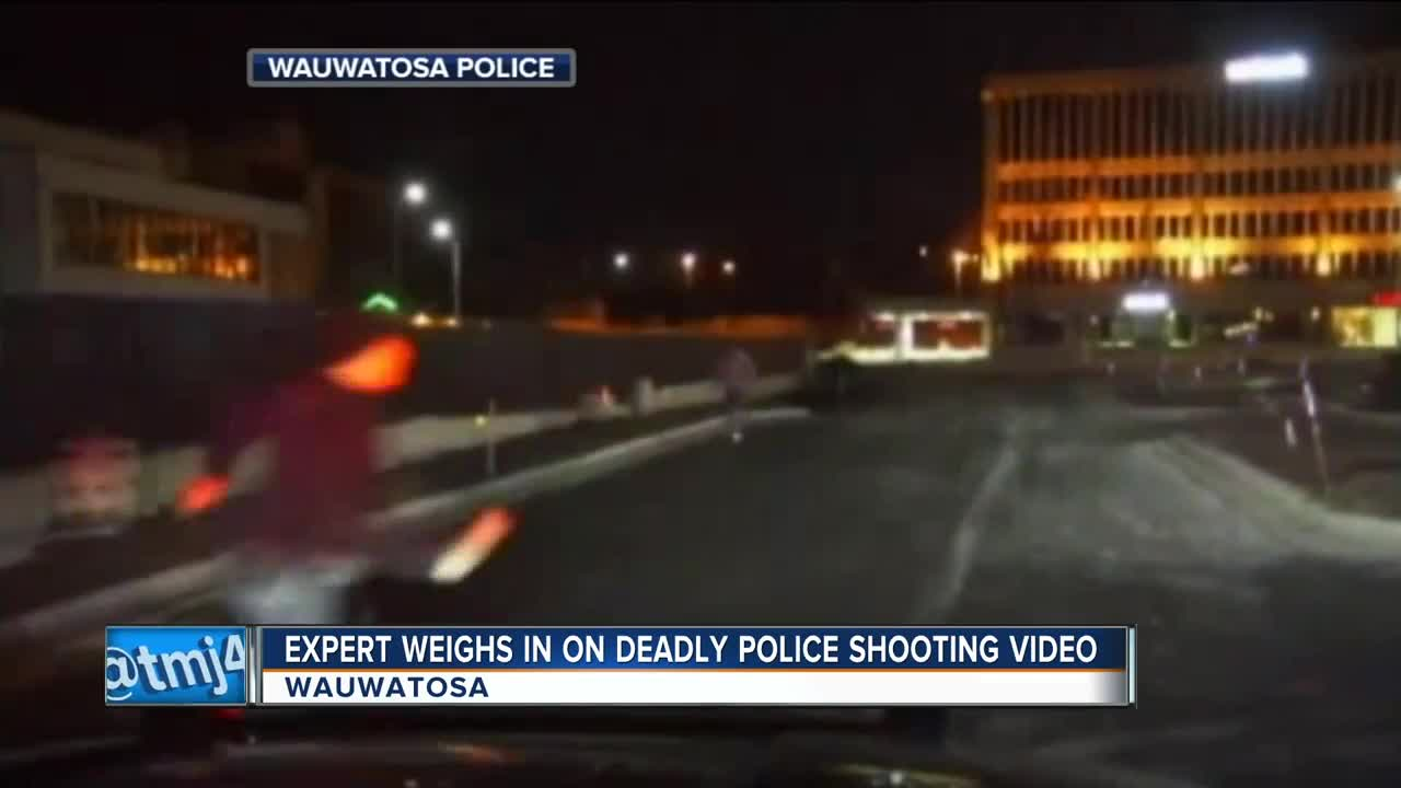 in  shooting force Use weighs officer-involved expert on of