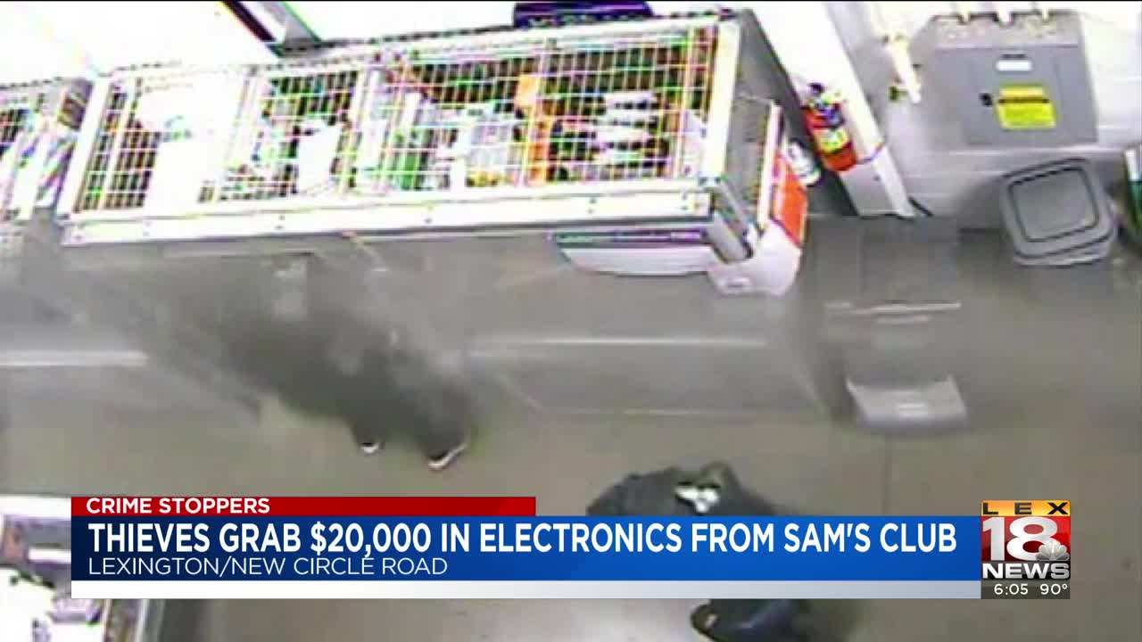 Crime Stoppers: Thieves Get Away With Nearly $20K In Stolen