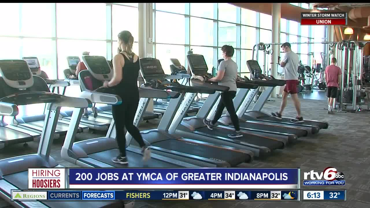 Plenty of jobs available at the YMCA of Greater Indianapolis