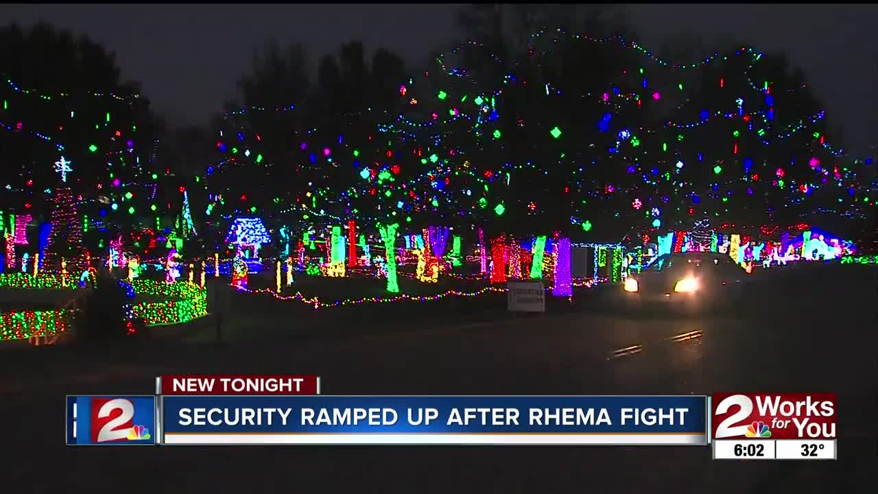 Rhema Christmas Lights.Rhema Bible Church Officials To Increase Security Measures