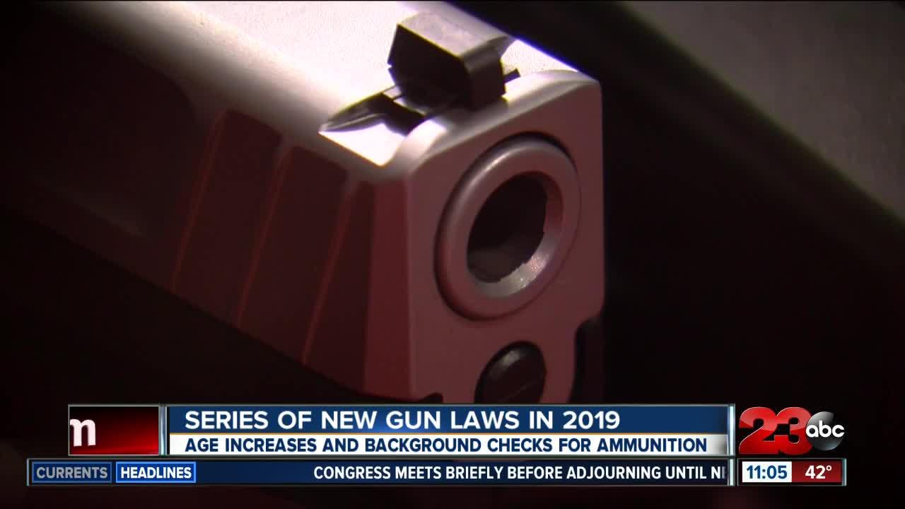 New California Gun Laws In 2019