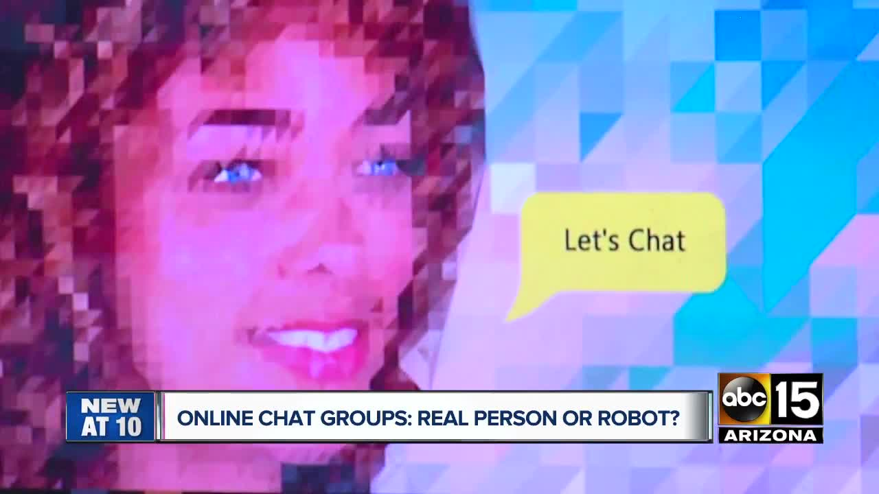 Is your online friend really an online chat bot?