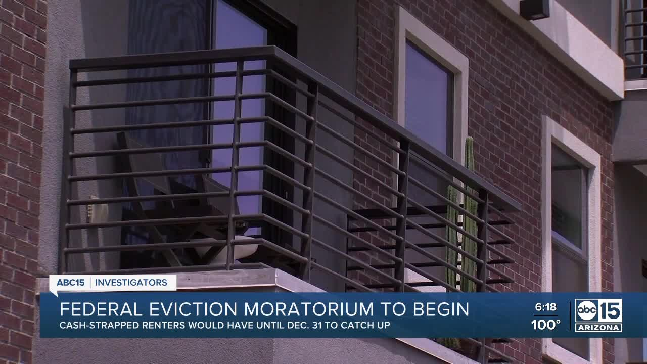 Trump administration orders halt to renter evictions. Here's who qualifies