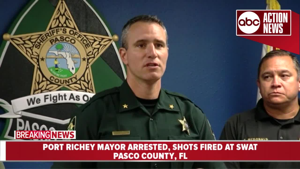 Port Richey Mayor arrested for attempted murder for firing