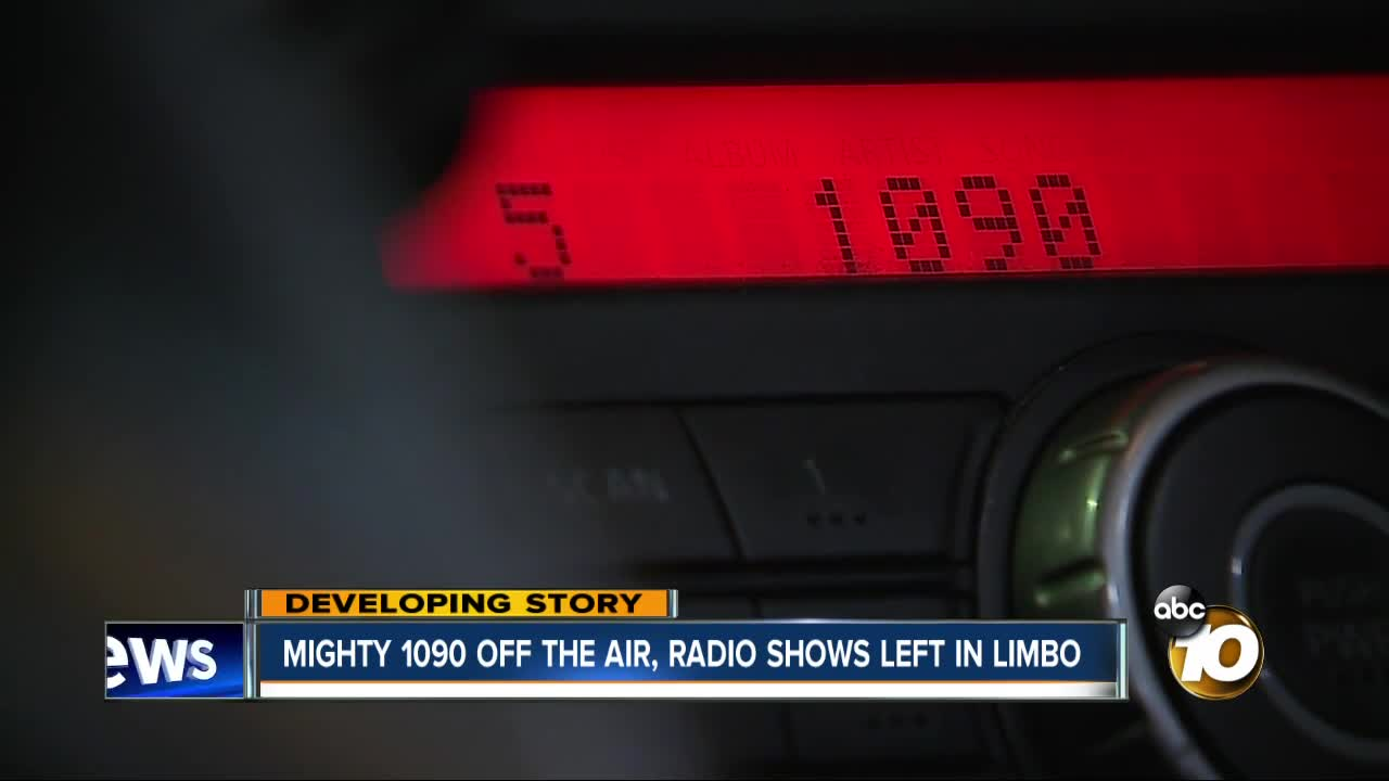 Popular sports talk radio station Mighty 1090 goes off air