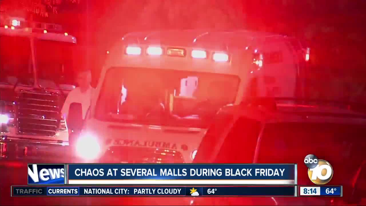 Alabama mall shooting leaves 1 dead, 2 wounded