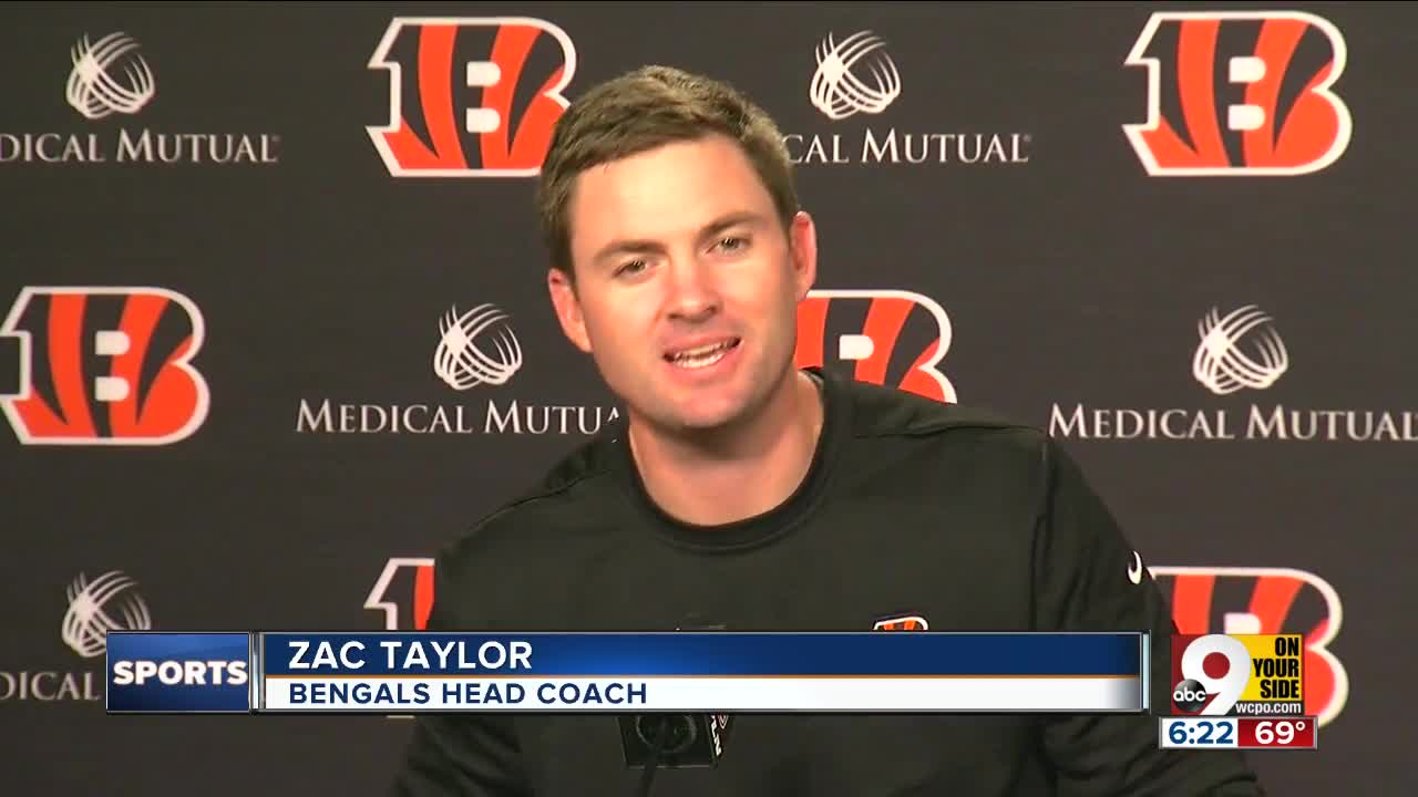 db819ad6 Bengals players step lightly into Zac Taylor Era
