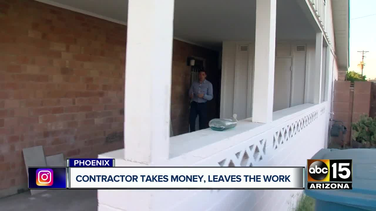 Navy veteran, others claim contractor took thousands for