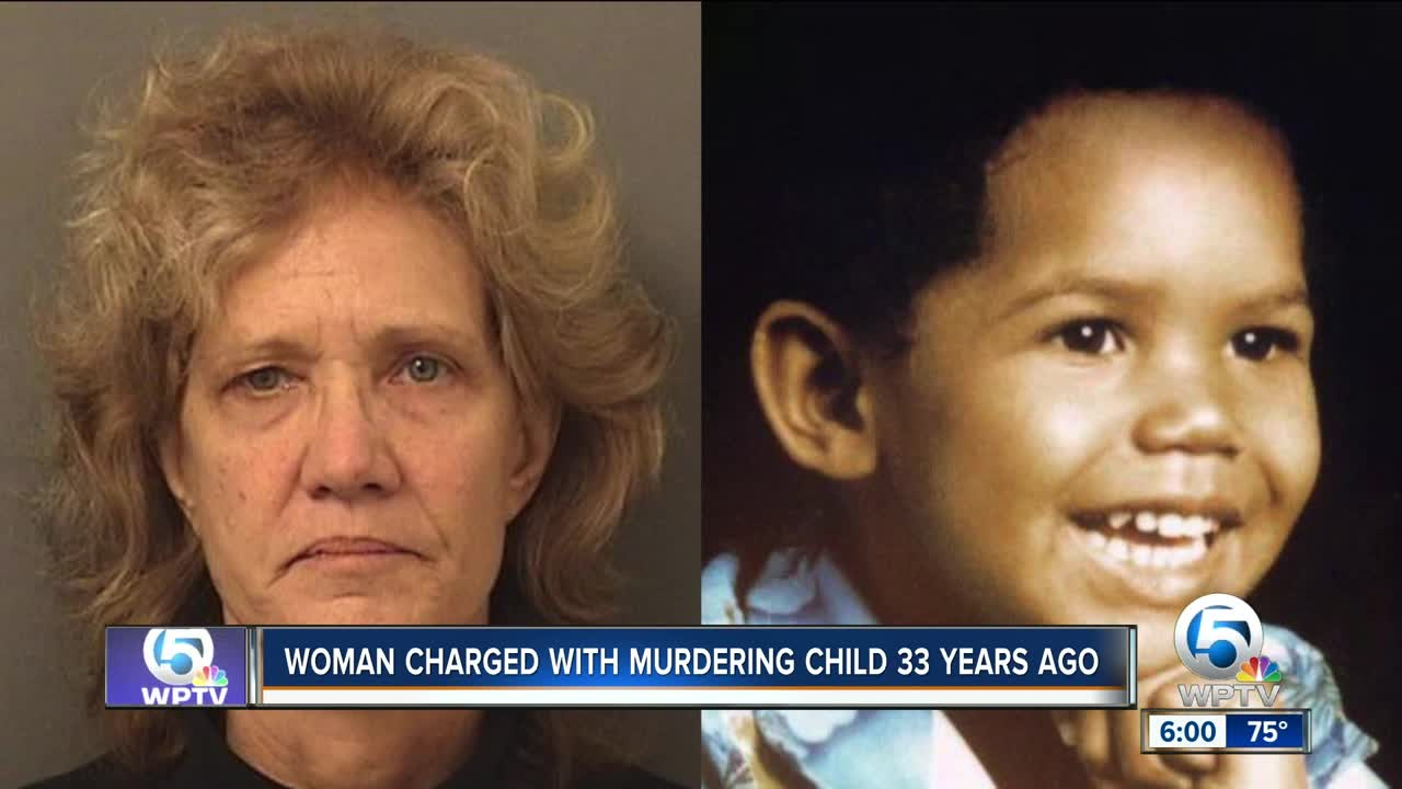 Florida woman arrested for killing son who disappeared in 1986