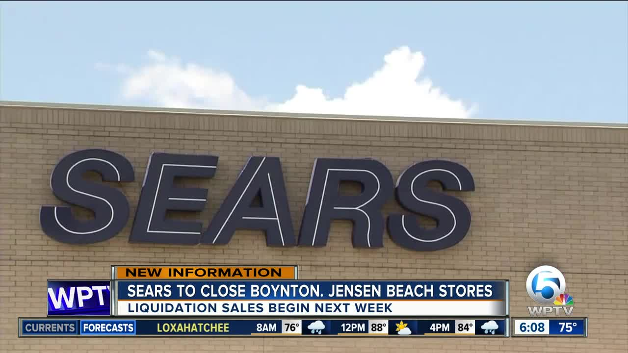 Sears Locations In Boynton Beach Jensen Beach On Latest List Of