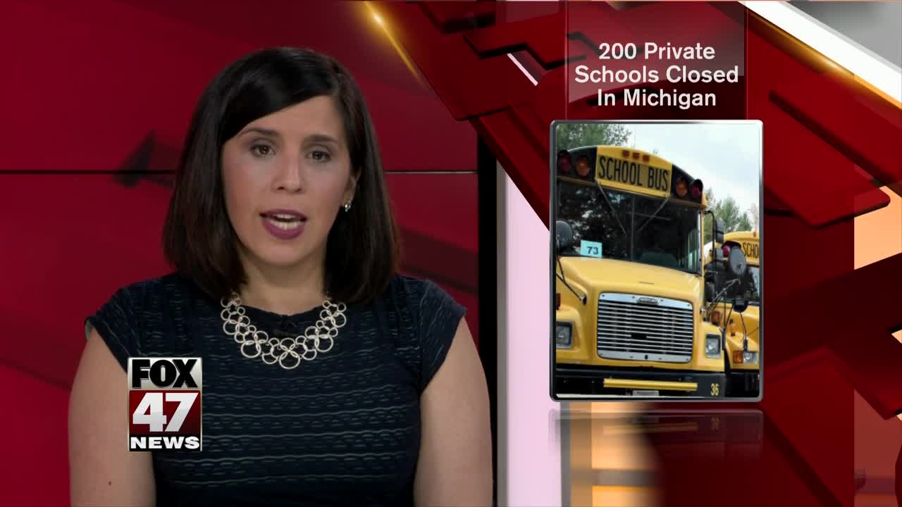 Private school numbers are dwindling