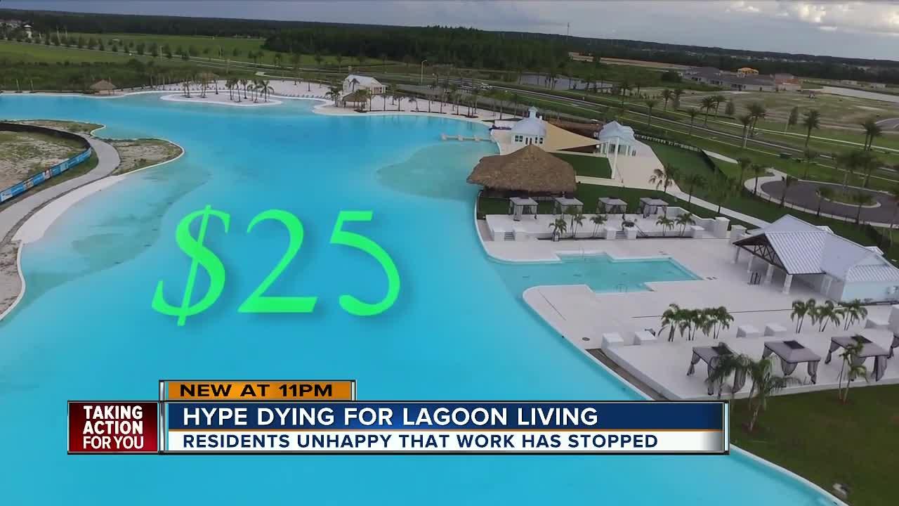 Pasco residents clash over Crystal Lagoon amenity fees