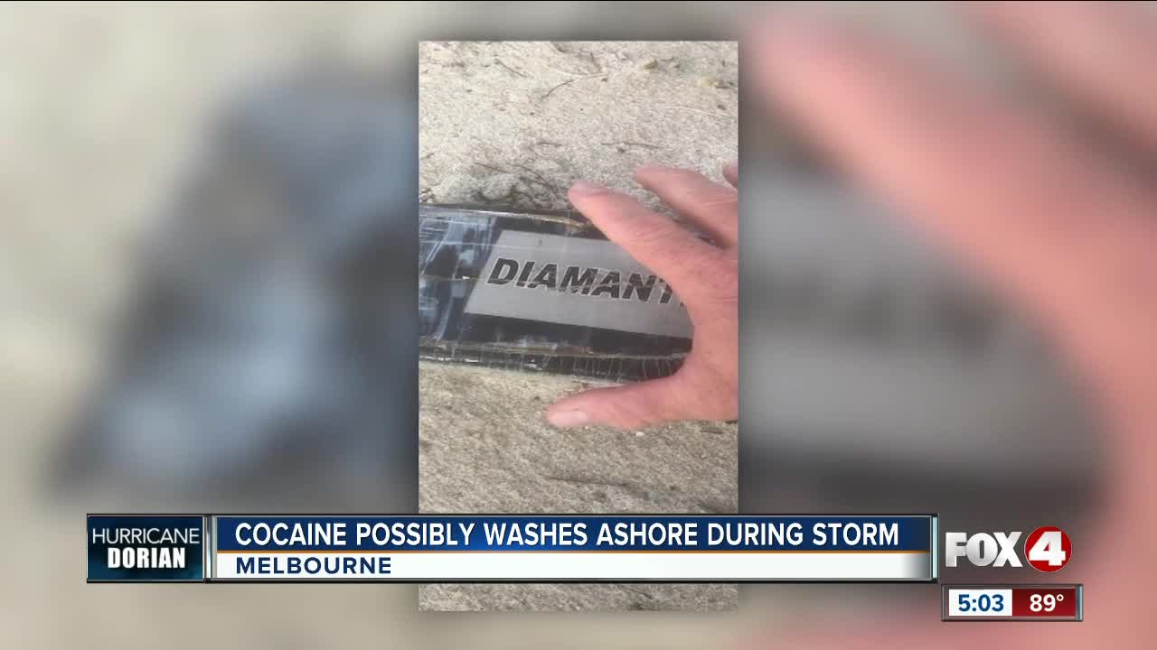 Sixteen bricks of cocaine wash up on Florida beach after Hurricane Dorian