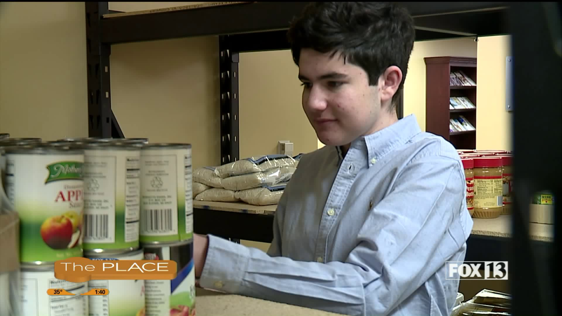 Zero Hunger Hero: a high school senior making a big difference