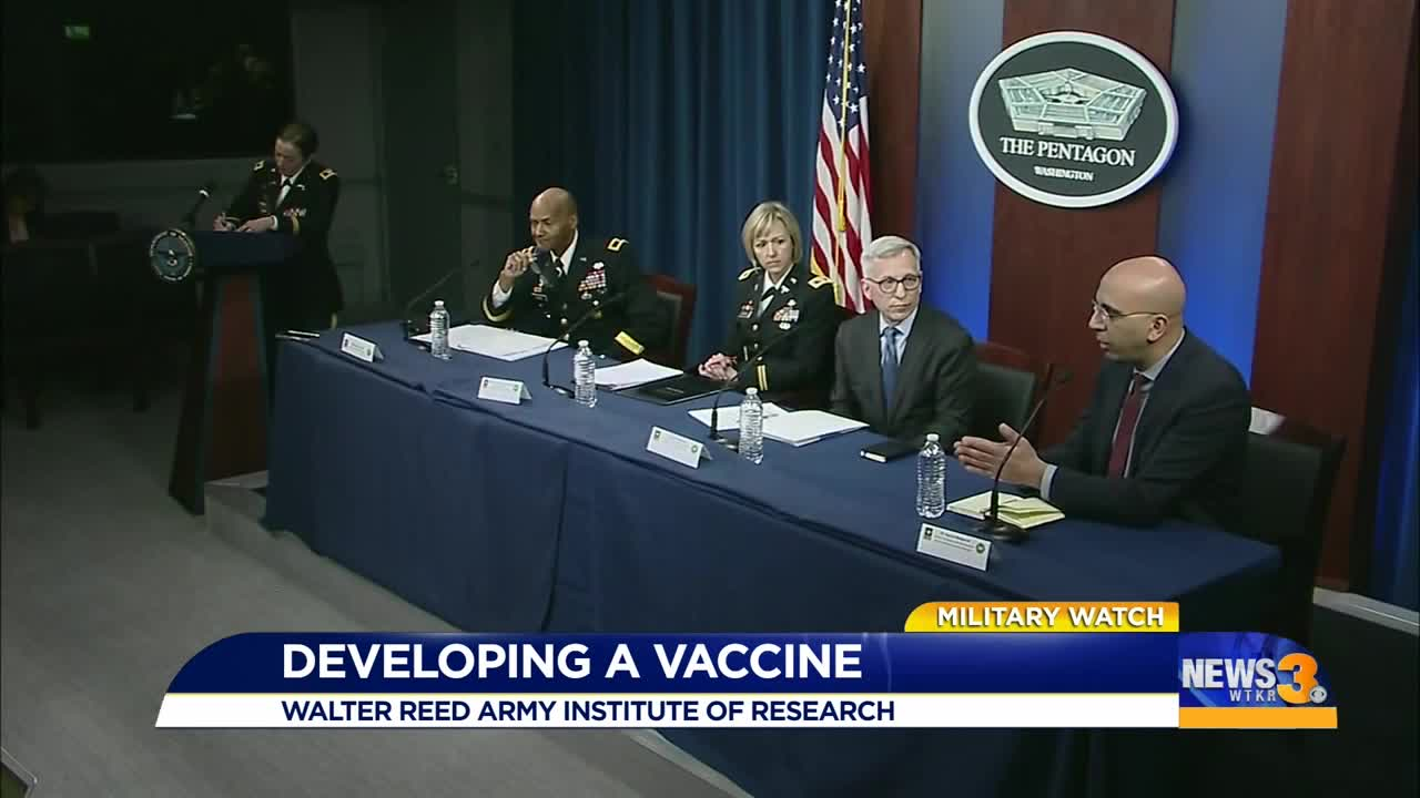 as coronavirus spreads  military works to develop vaccine