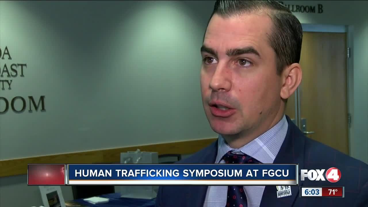 John Walsh S Son Callahan Walsh Speaks At Human Trafficking Symposium At Fgcu Hours, address, callahan's of calabash reviews: john walsh s son callahan walsh