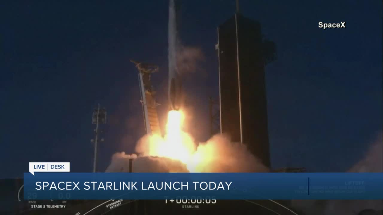 Happy development from SpaceX for Starlink!