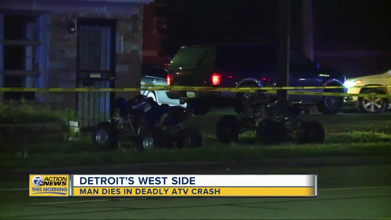 Father Of 5 Dies After ATV He Was Riding Crashes Into