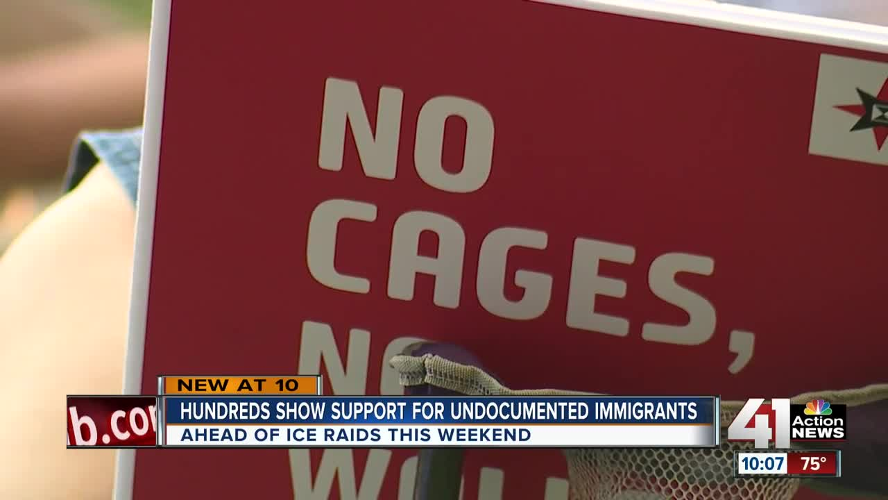 KC hosts immigration rally ahead of ICE raids across country