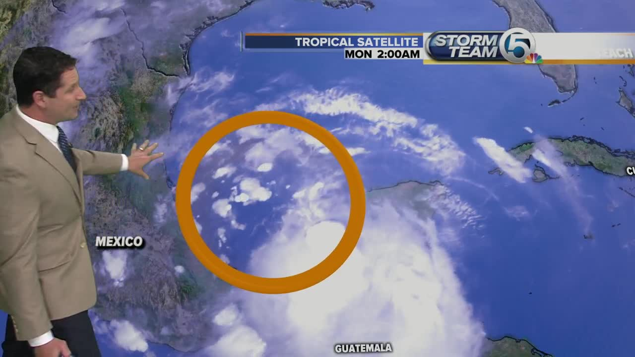 Disorganized in the Gulf, but still watching disturbance near Texas
